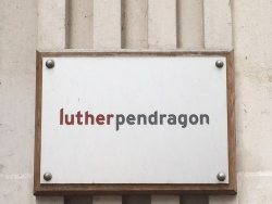 Luther Pendragon sign.JPG