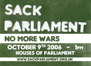 Sticker for SackParliament protest of 9 October 2006.jpg